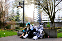 Lounging at Sakura-Con